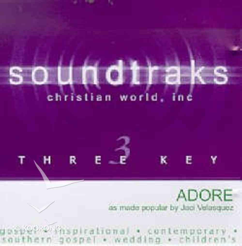 Adore (Accompaniment) CD