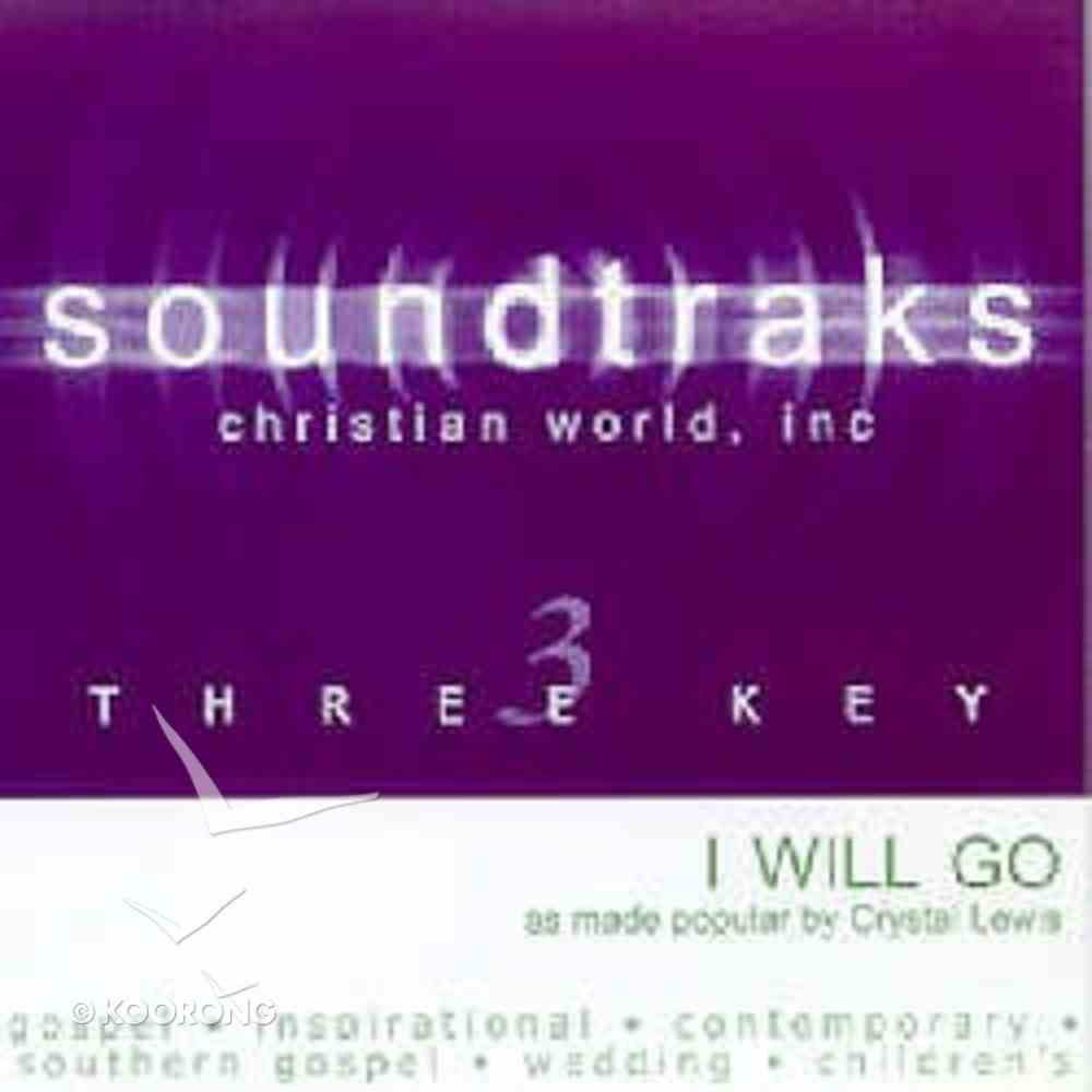 I Will Go (Accompaniment) CD