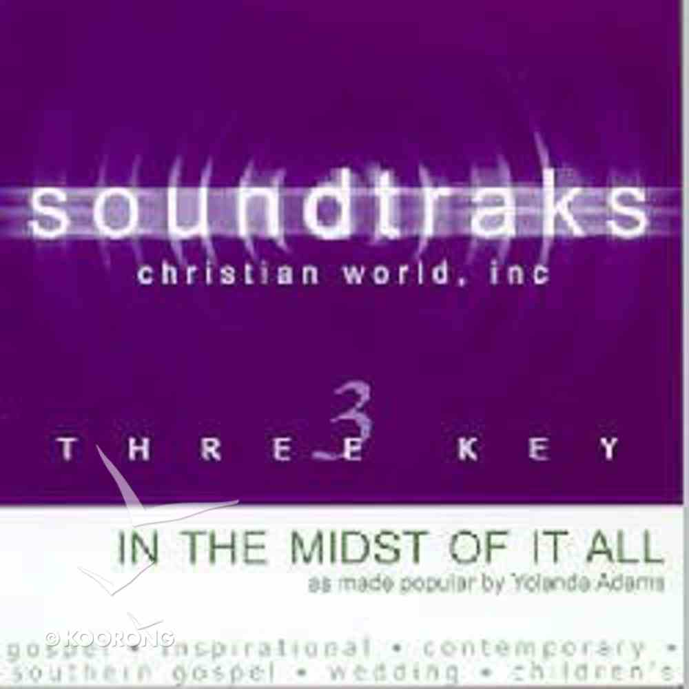 In the Midst of It All (Accompaniment) CD