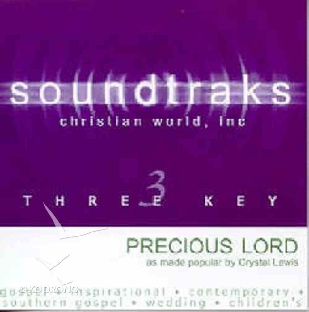 Precious Lord (Accompaniment) CD