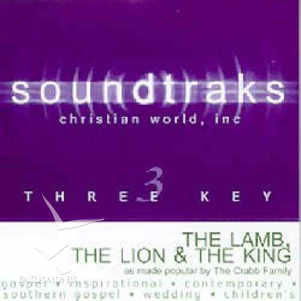 The Lamb the Lion and the King (Accompaniment) CD