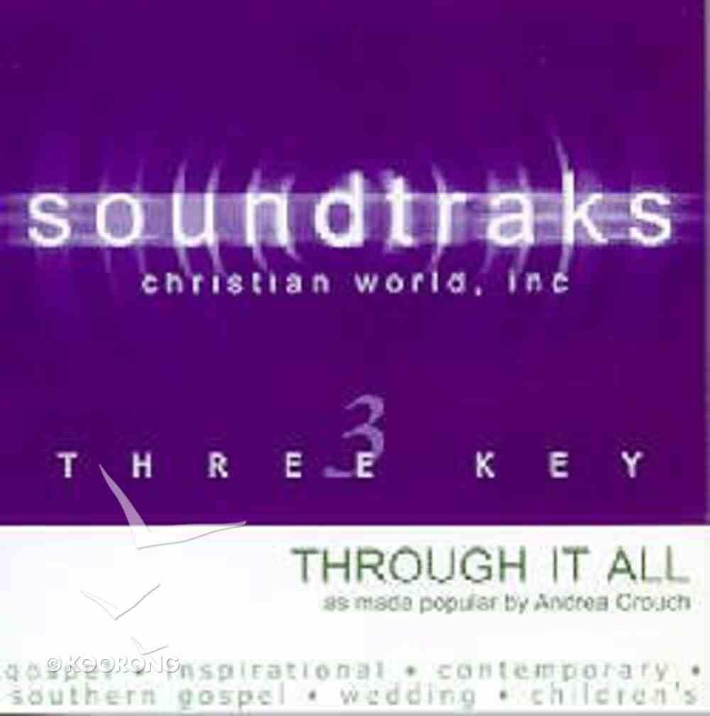 Through It All (Accompaniment) CD