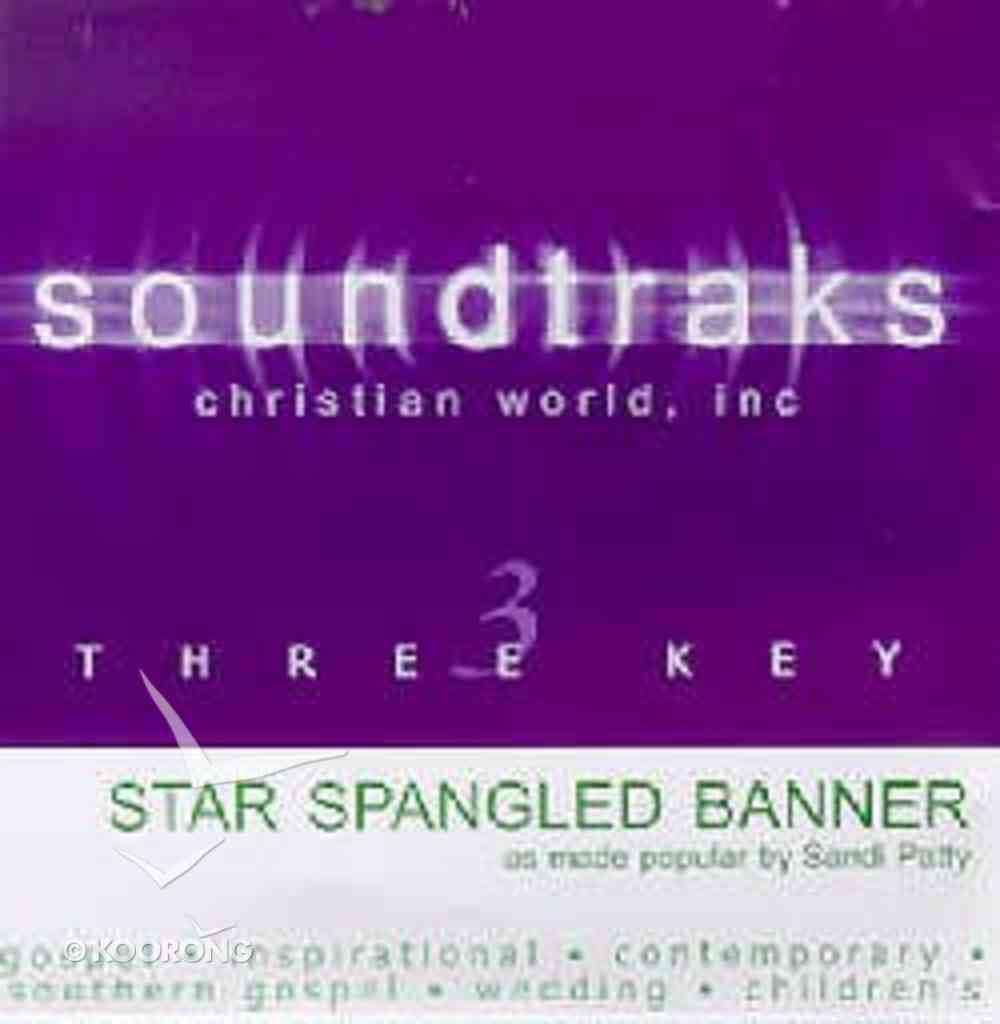 The Star Spangled Banner (Accompaniment) CD