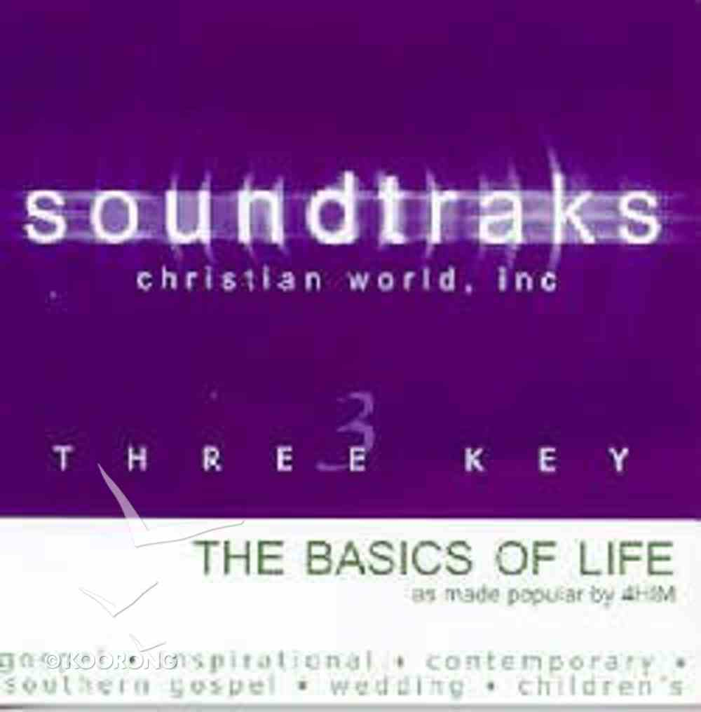 The Basics of Life (Accompaniment) CD