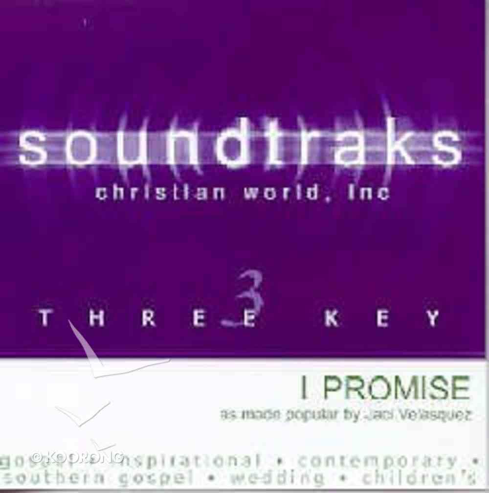 I Promise (Accompaniment) CD