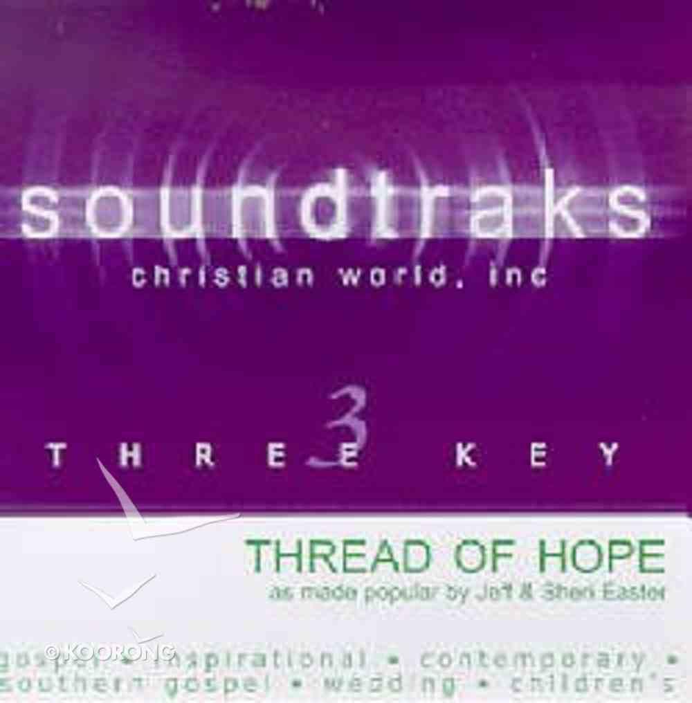 Thread of Hope (Accompaniment) CD