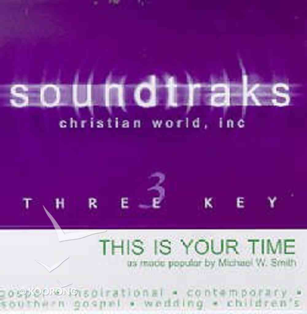 This is Your Time (Accompaniment) CD
