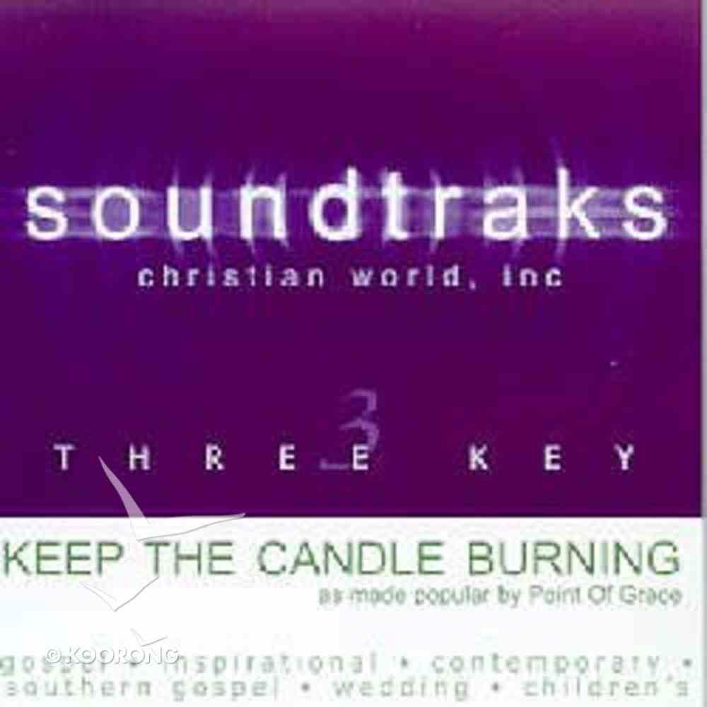 Keep the Candle Burning (Accompaniment) CD
