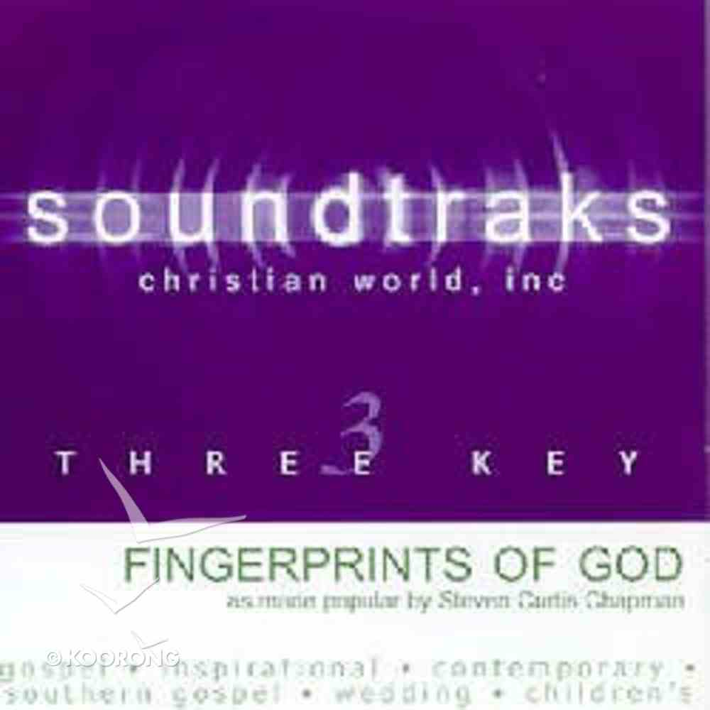 Fingerprints of God (Accompaniment) CD