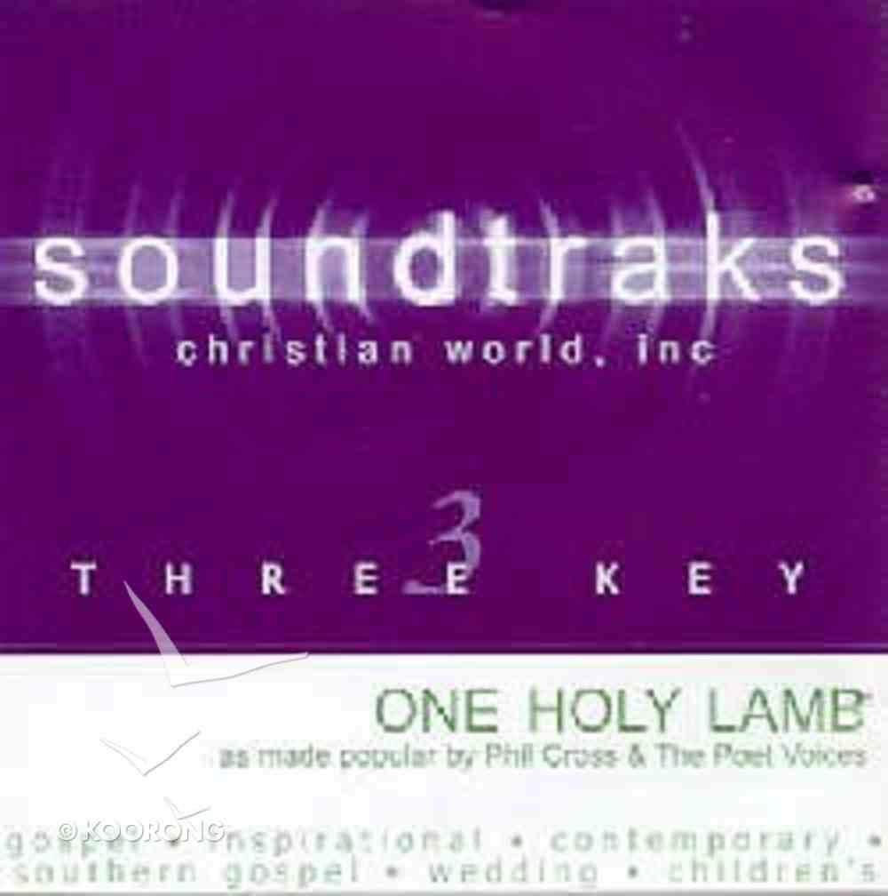 One Holy Lamb (Accompaniment) CD