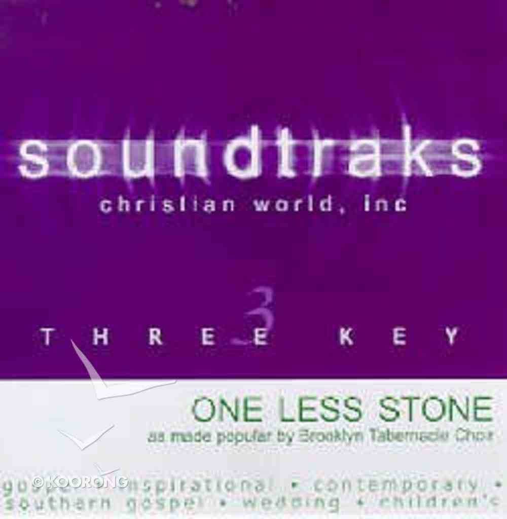 One Less Stone (Accompaniment) CD