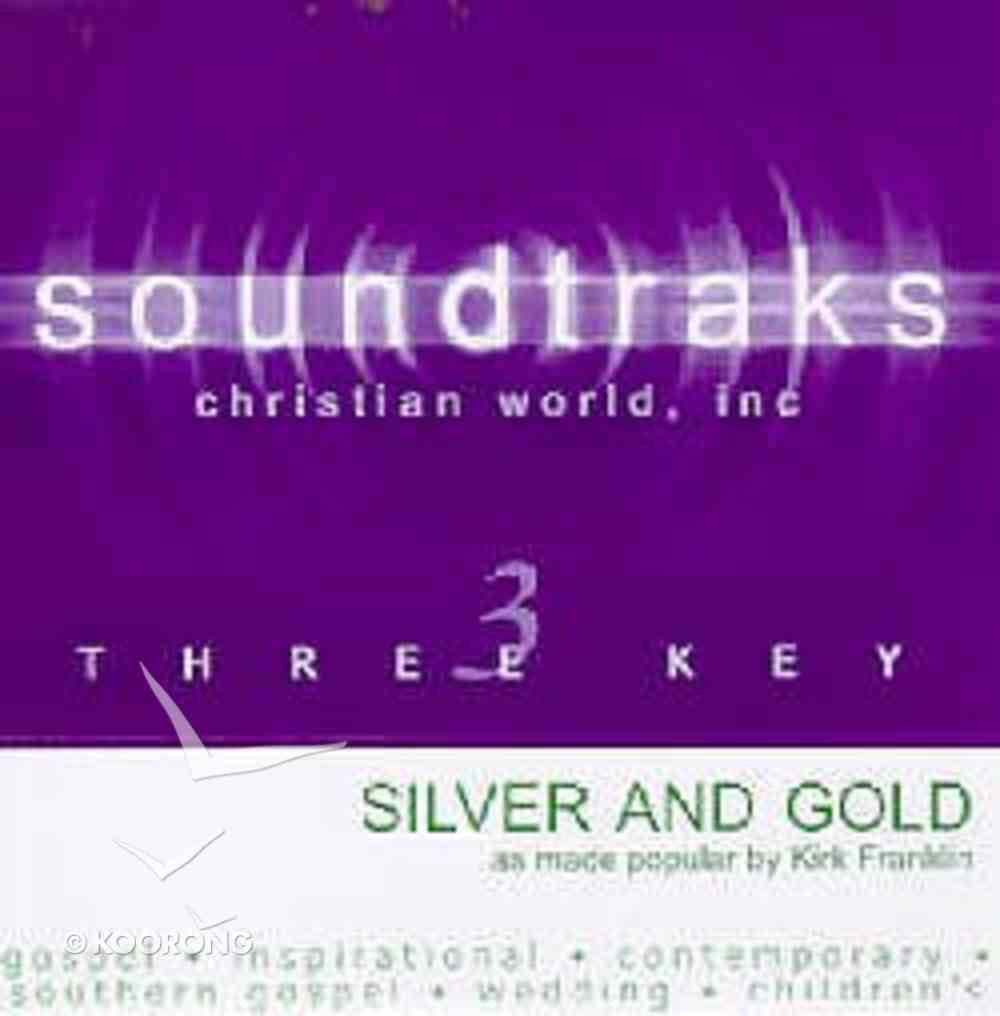 Silver and Gold (Accompaniment) CD