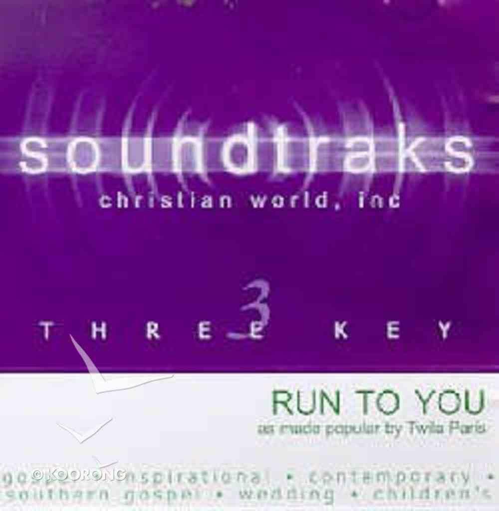 Run to You (Accompaniment) CD