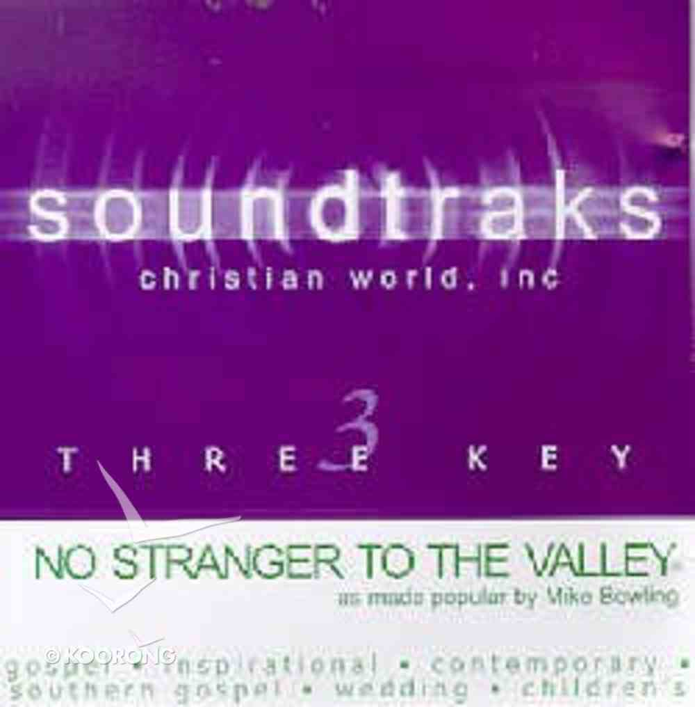 No Stranger to the Valley (Accompaniment) CD
