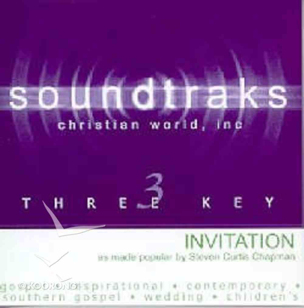 The Invitation (Accompaniment) CD