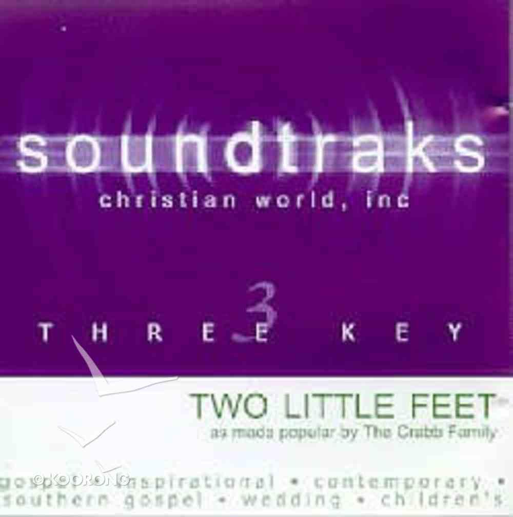 Two Little Feet (Accompaniment) CD