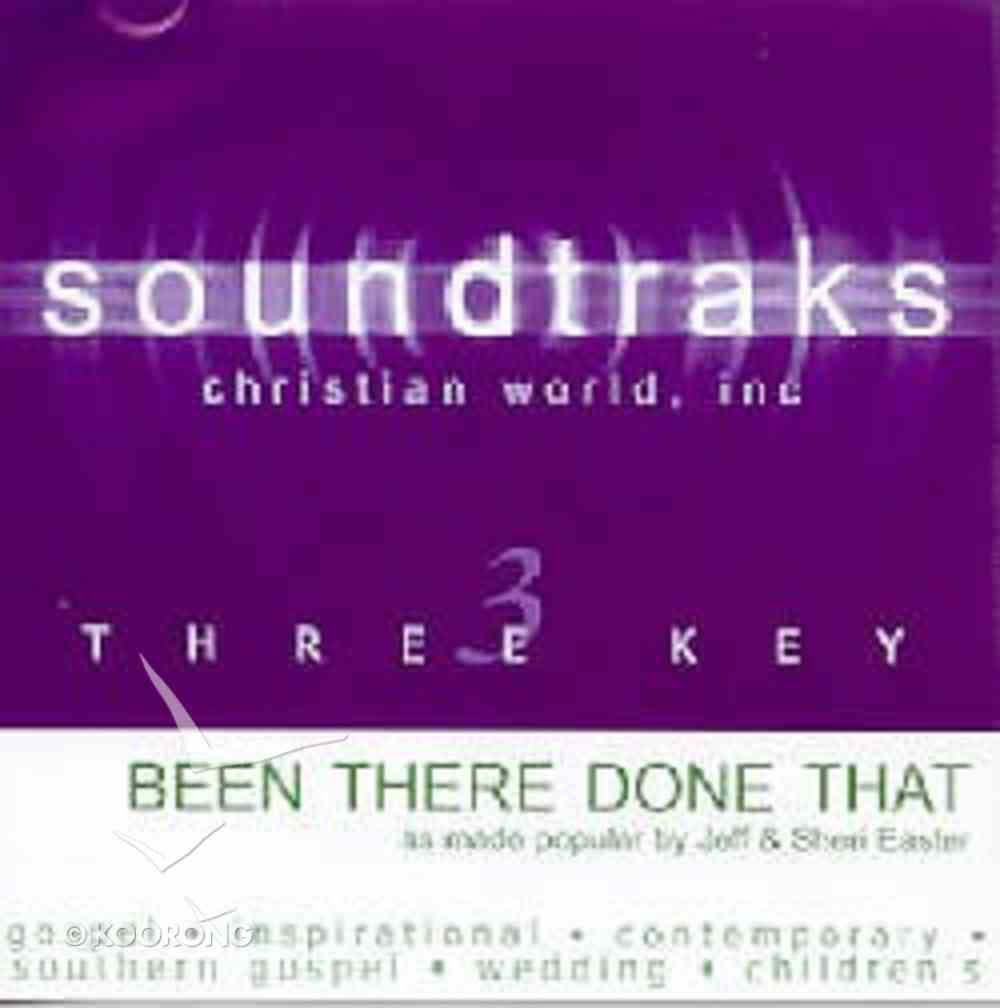 Been There, Done That (Accompaniment) CD