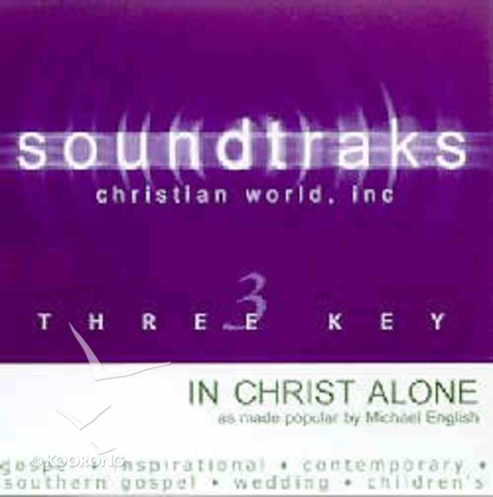 In Christ Alone (Accompaniment) CD