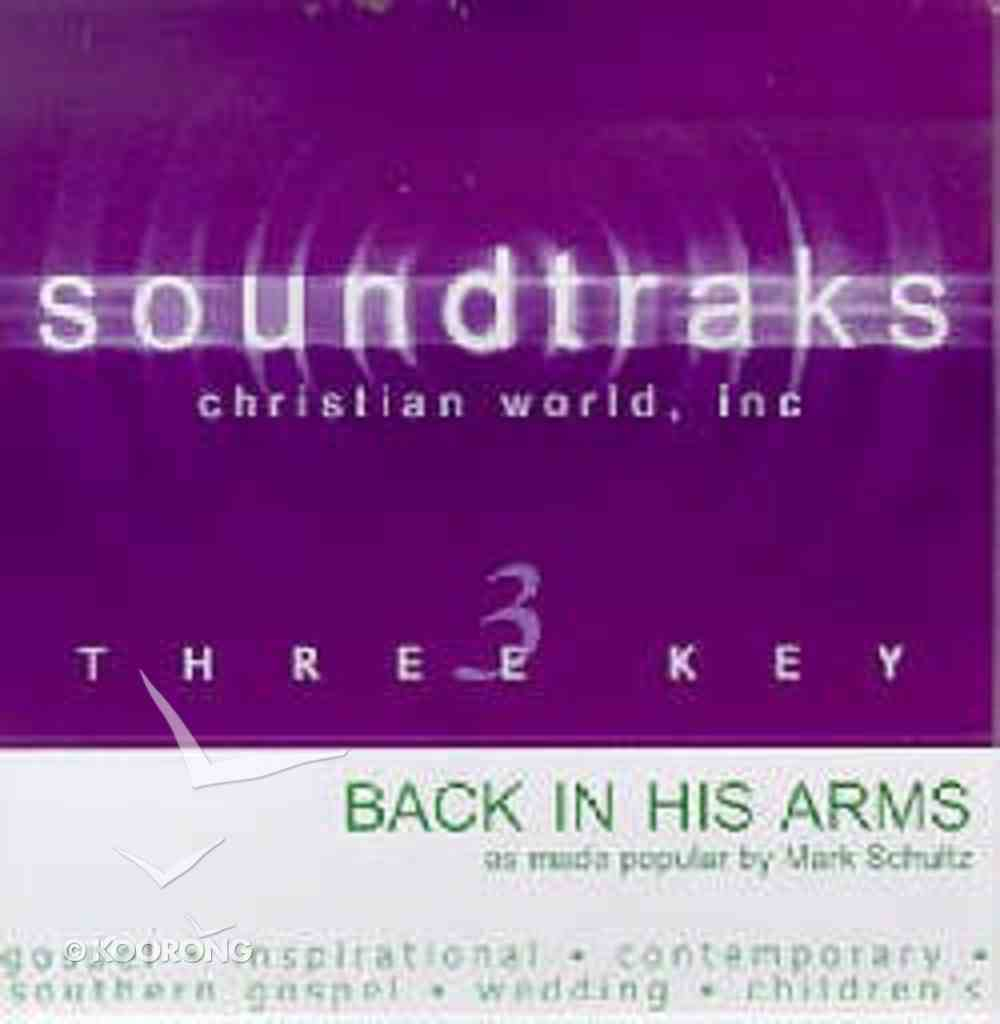 Back in His Arms (Accompaniment) CD