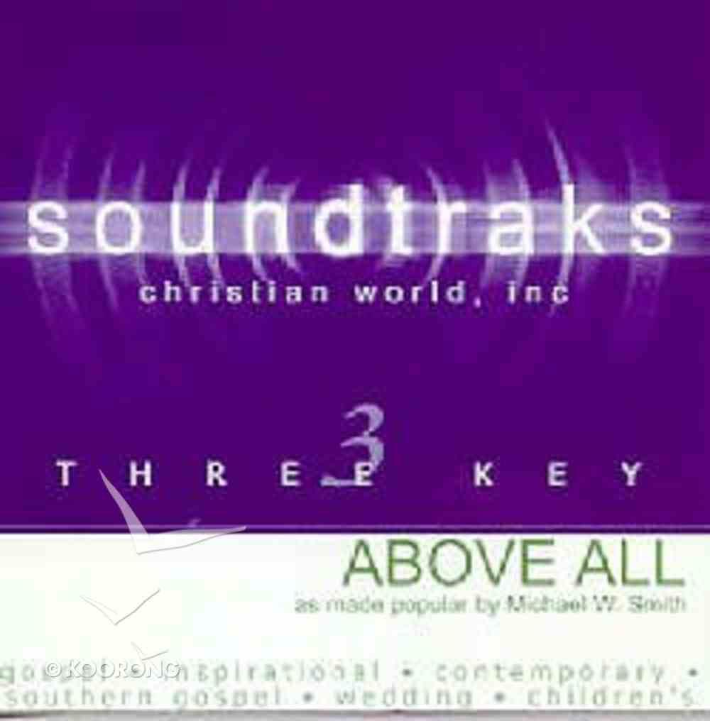Above All (Accompaniment) CD