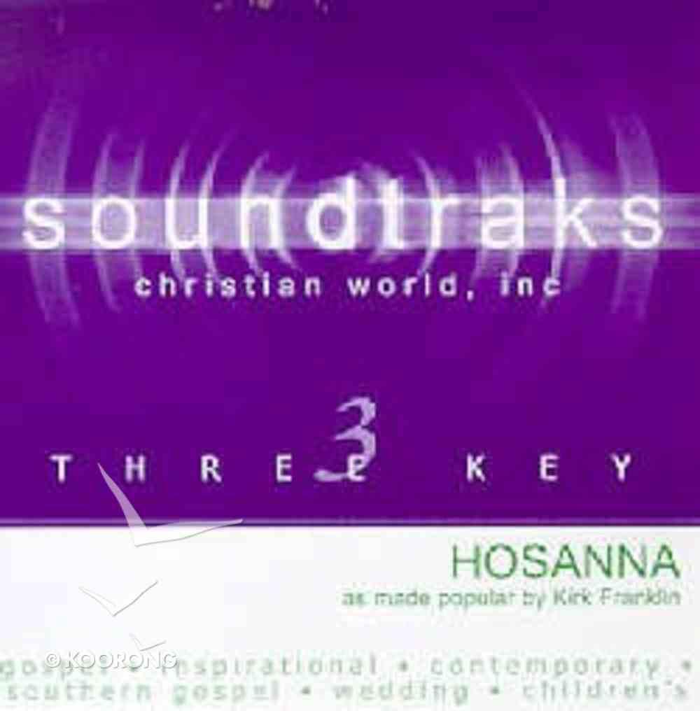 Hosanna (Accompaniment) CD