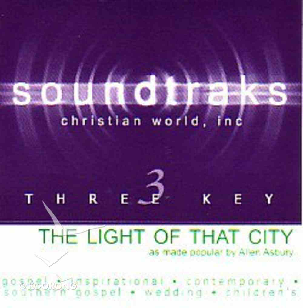 The Light of That City (Accompaniment) CD