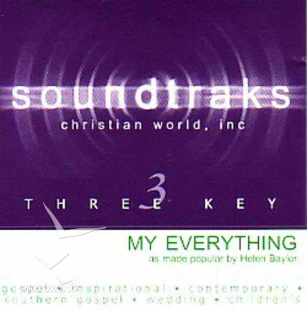 My Everything (Accompaniment) CD