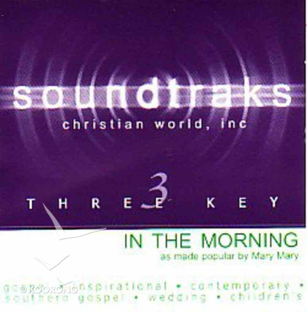 In the Morning (Accompaniment) CD