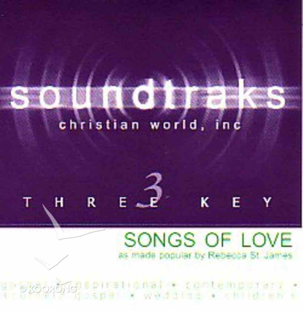 Songs of Love (Accompaniment) CD