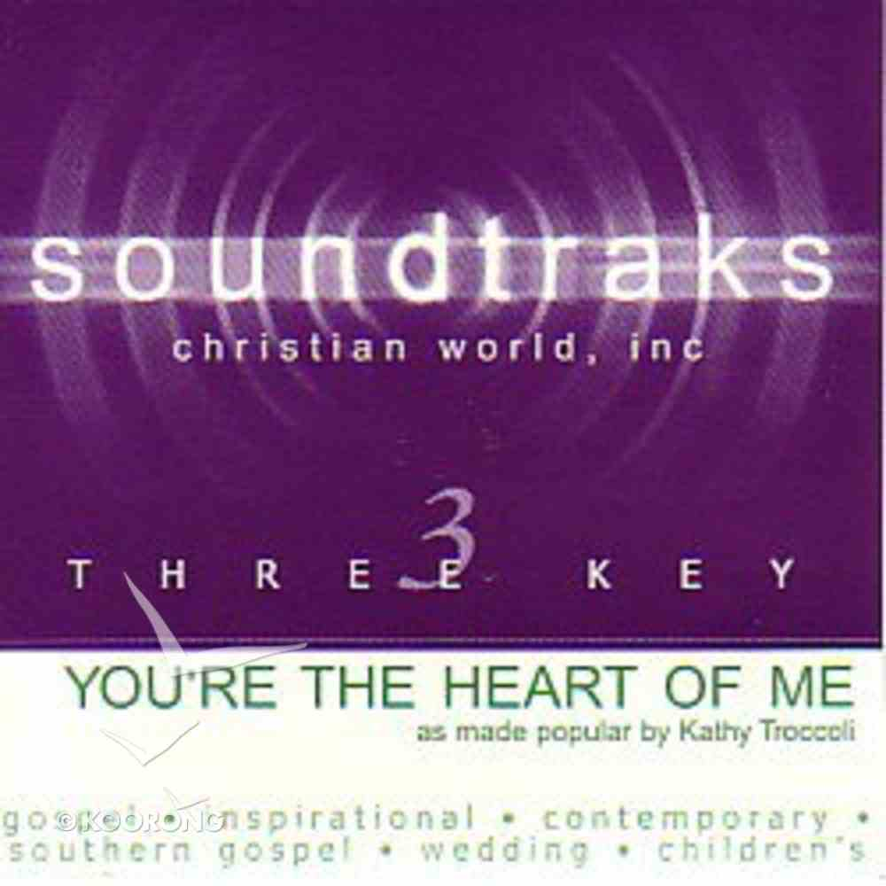 You're the Heart of Me (Accompaniment) CD