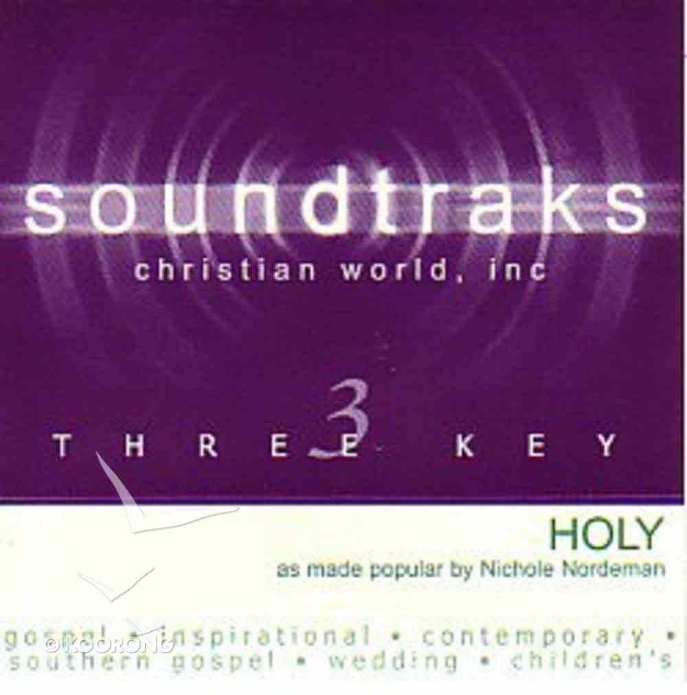 Holy (Accompaniment) CD
