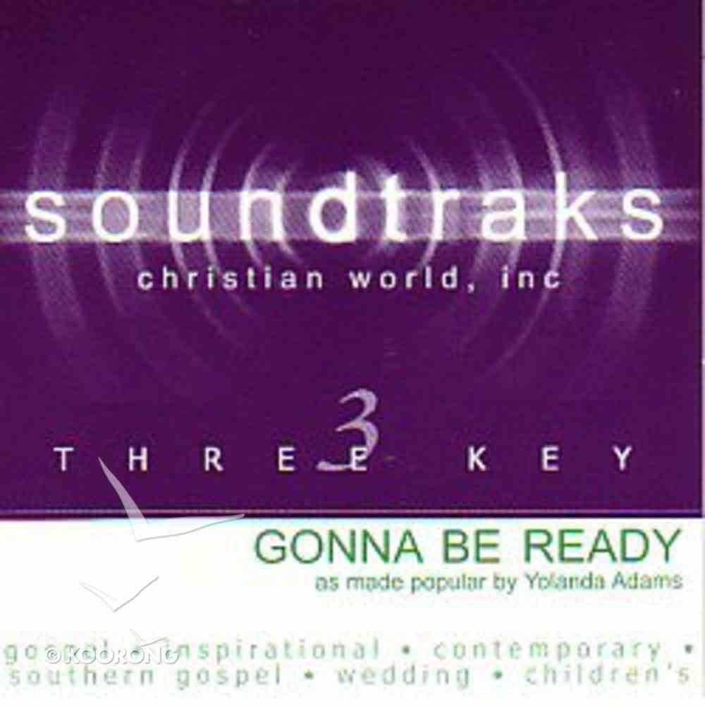 Gonna Be Ready (Accompaniment) CD