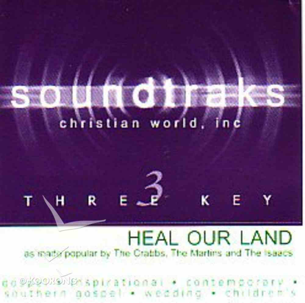 Heal Our Land (Accompaniment) CD