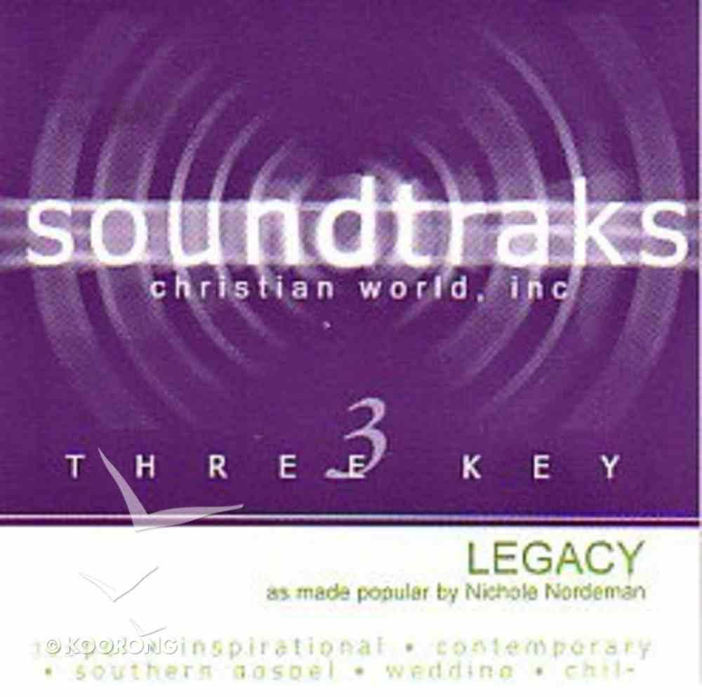 Legacy (Accompaniment) CD