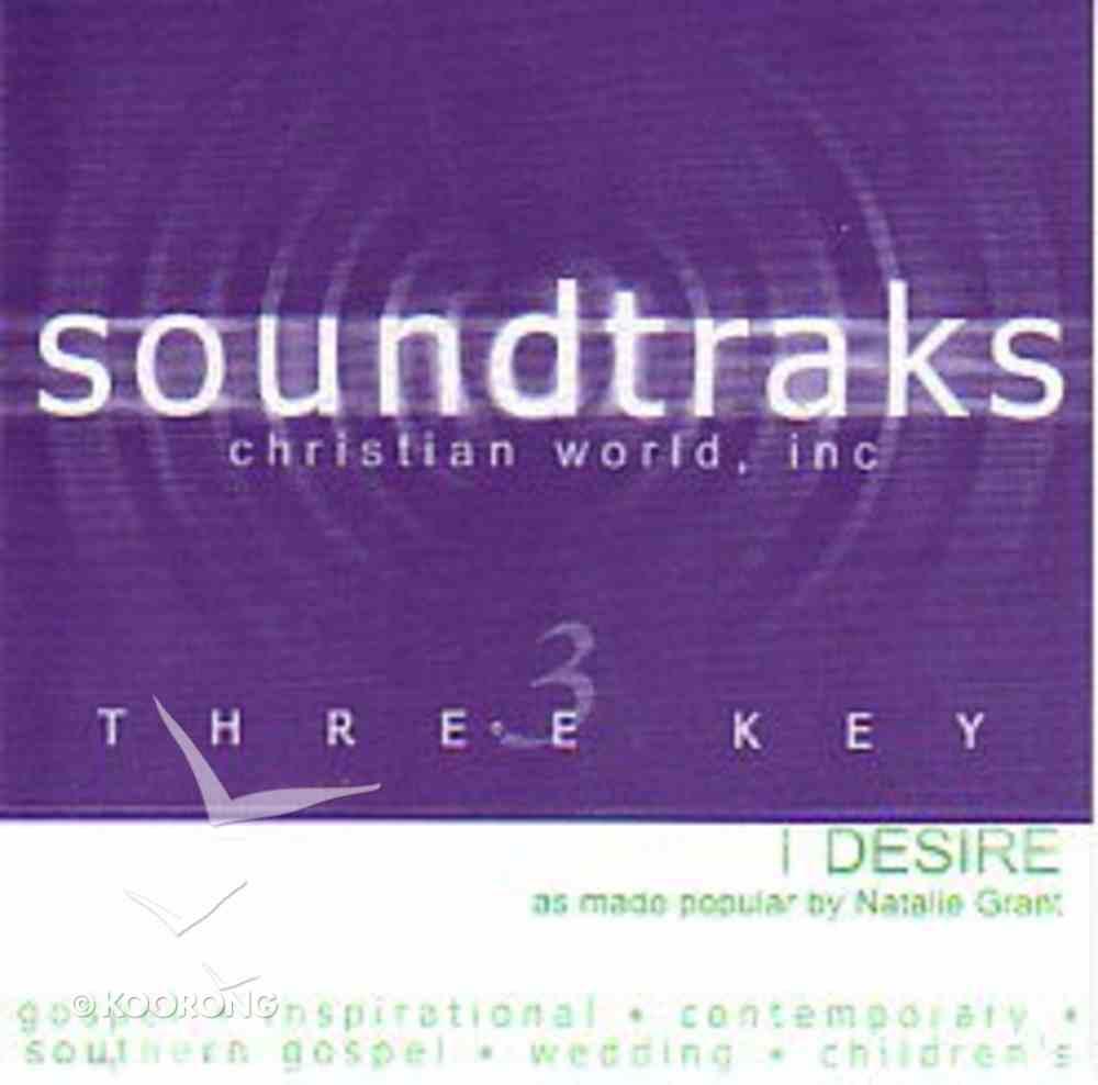 I Desire (Accompaniment) CD