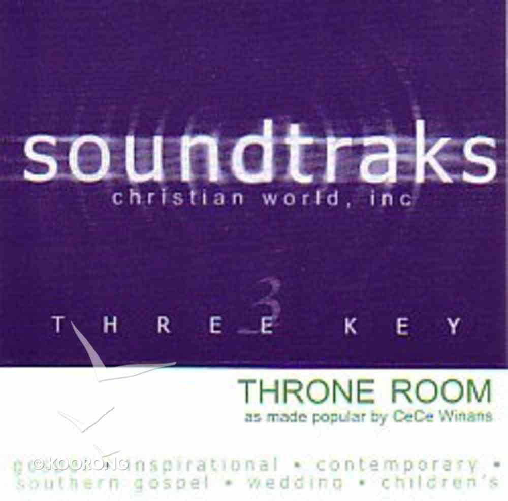 Throne Room (Accompaniment) CD
