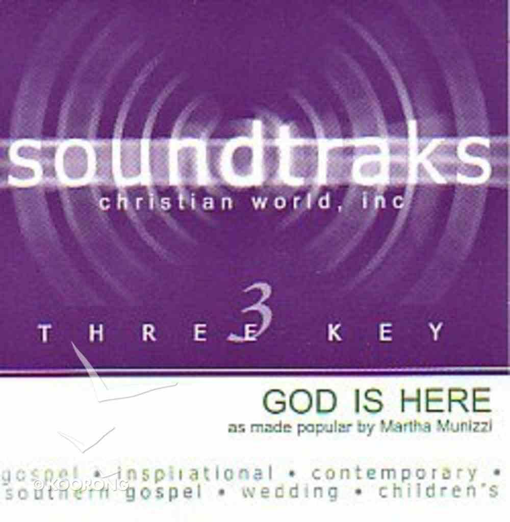 God is Here (Accompaniment) CD