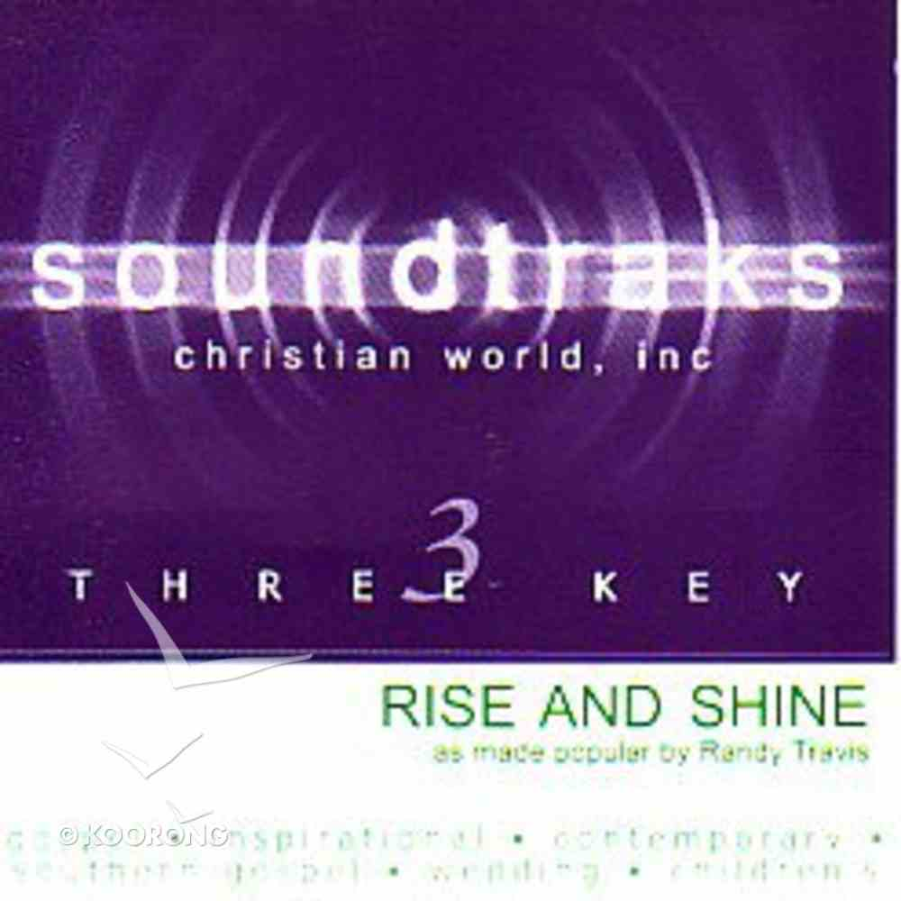 Rise and Shine (Accompaniment) CD