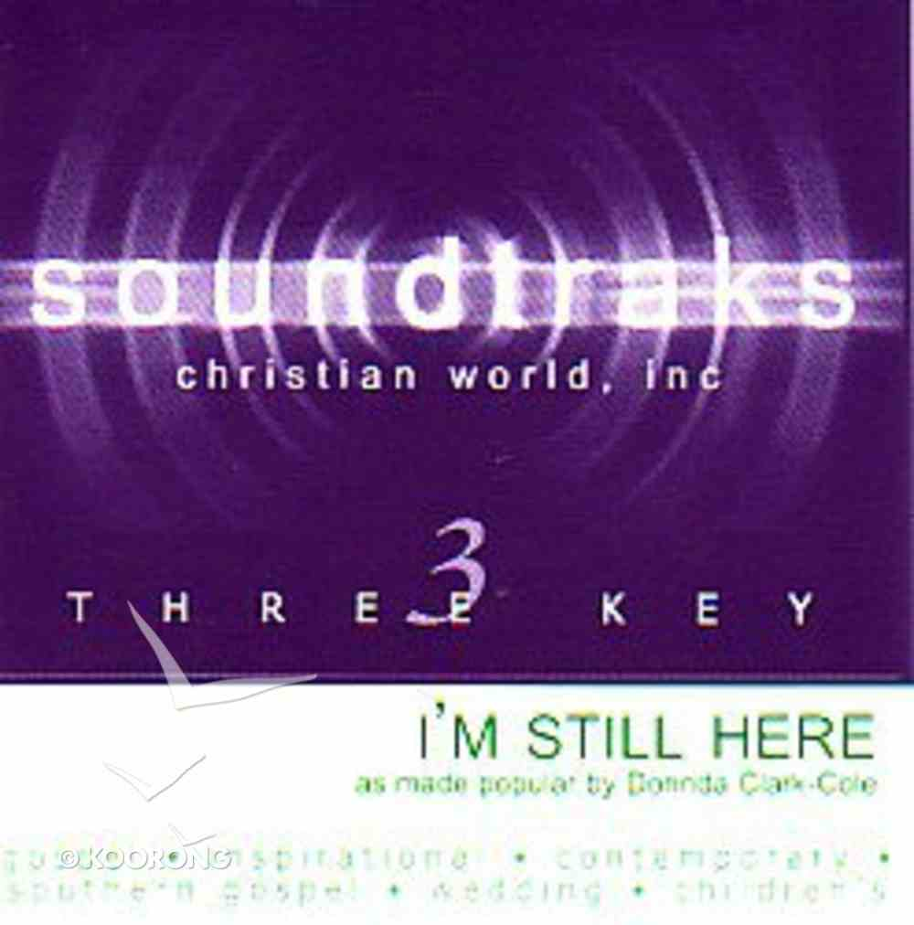 I'm Still Here (Accompaniment) CD
