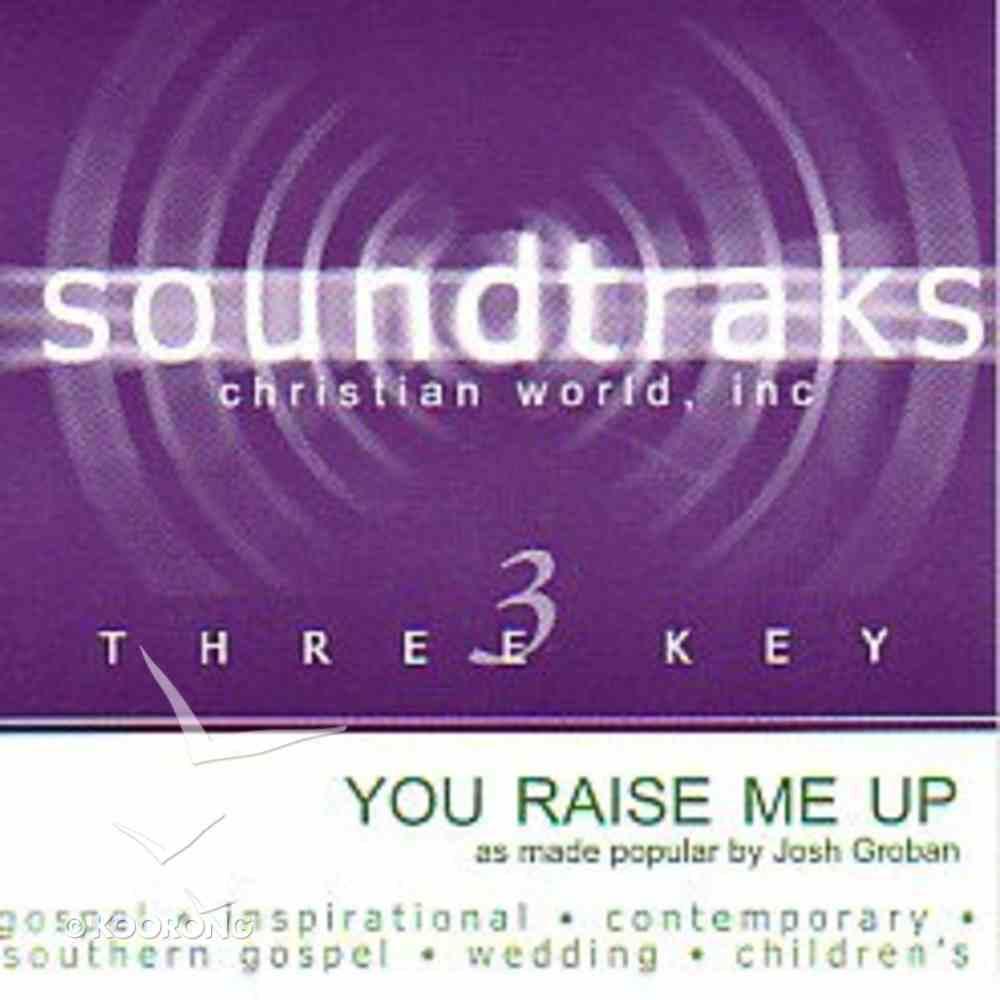 You Raise Me Up (Accompaniment) CD