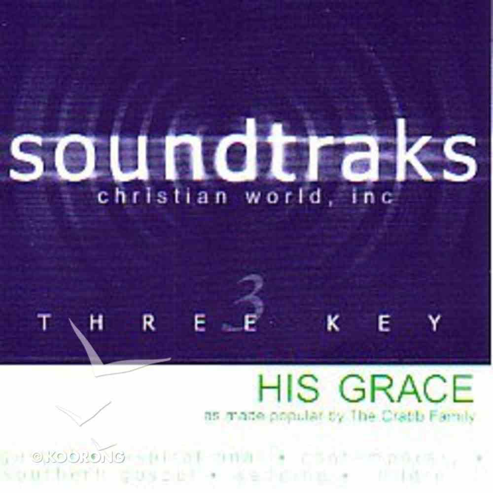 His Grace (Accompaniment) CD