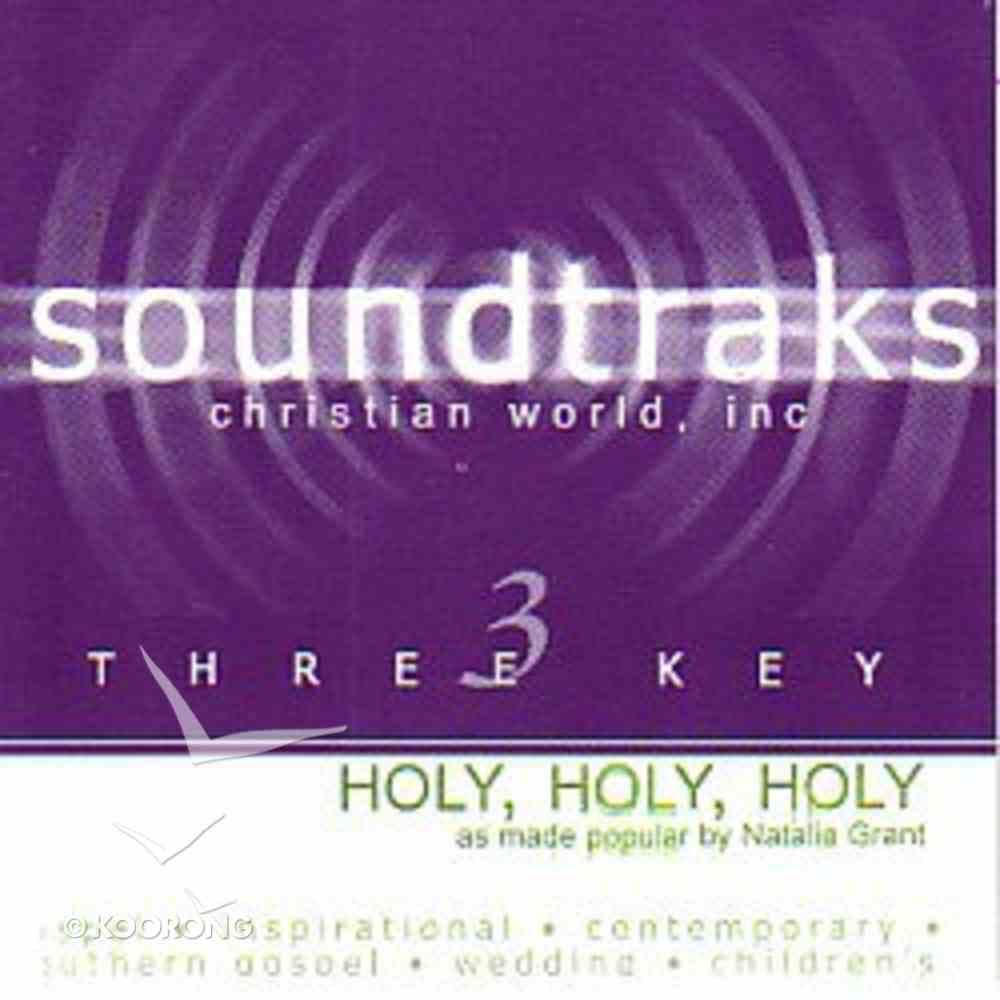 Holy Holy Holy (Accompaniment) CD