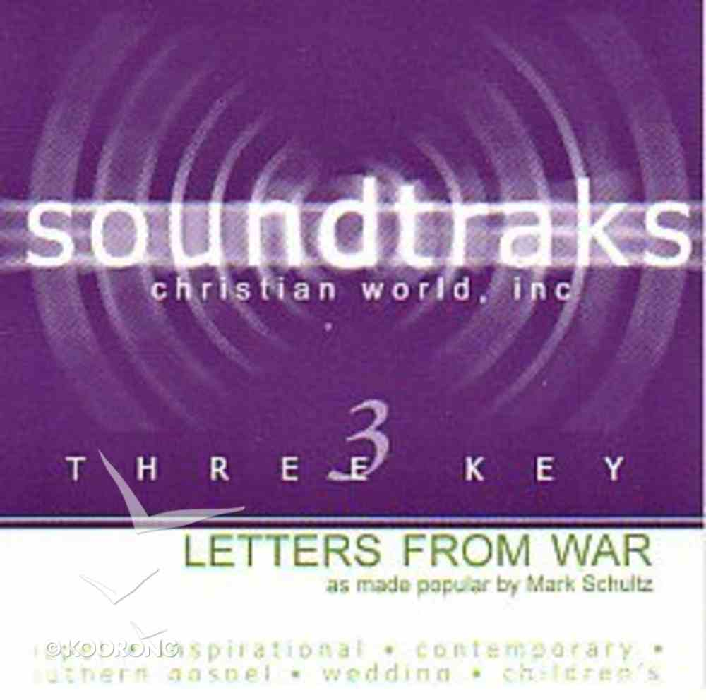 Letters From War (Accompaniment) CD