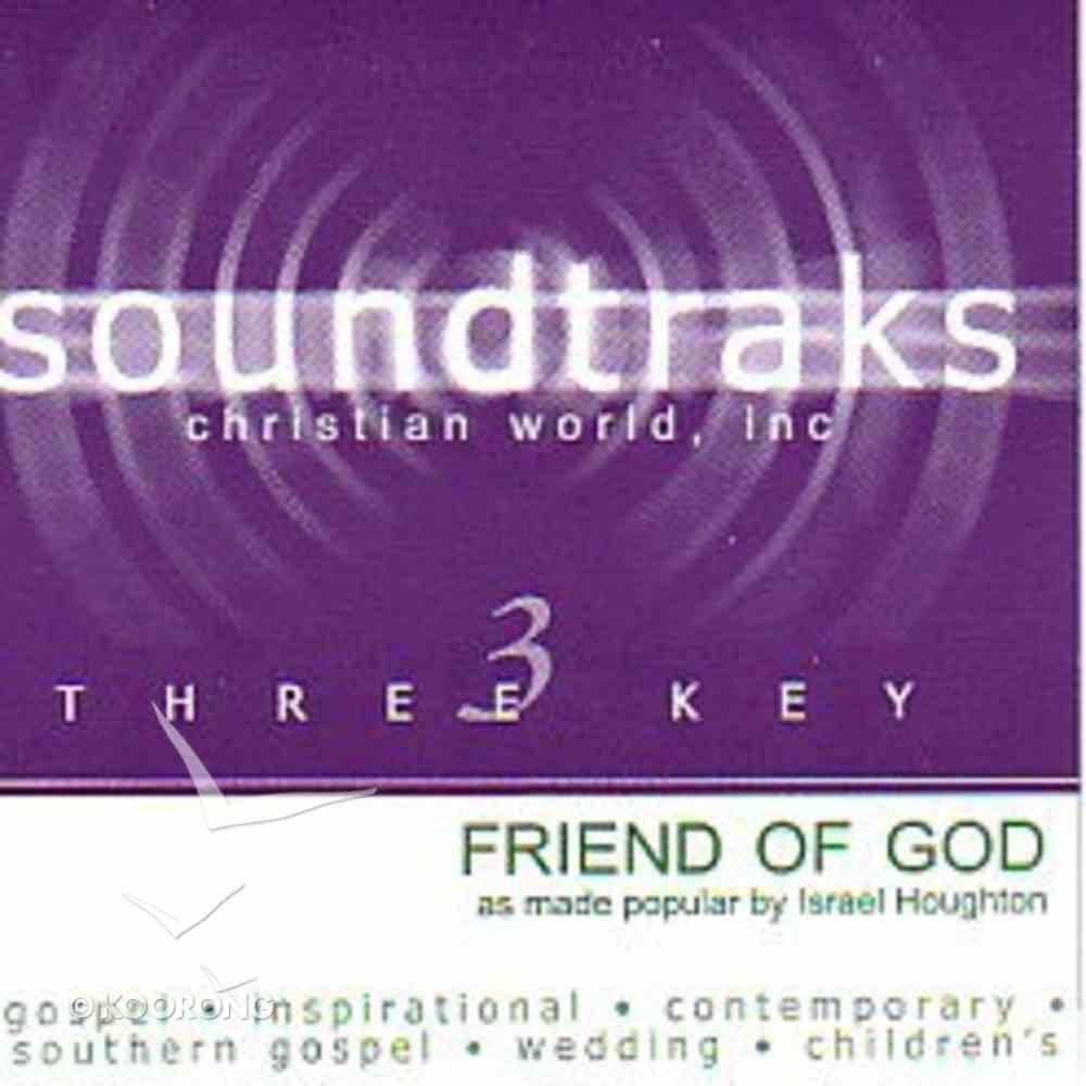 Friend of God (Accompaniment) CD