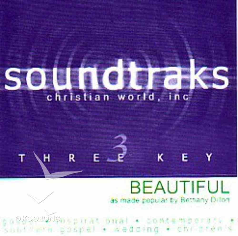 Beautiful (Accompaniment) CD