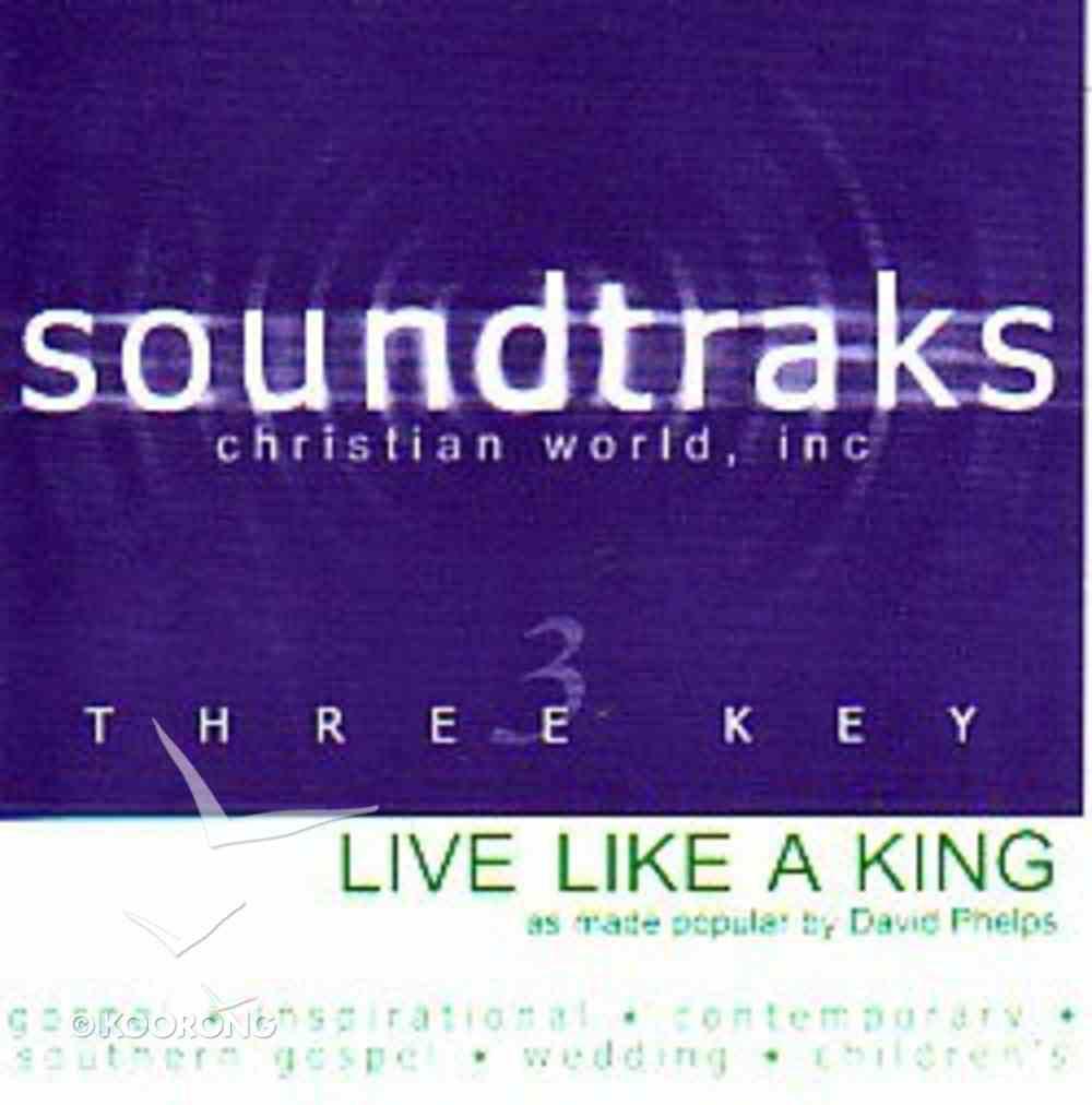 Live Like a King (Accompaniment) CD