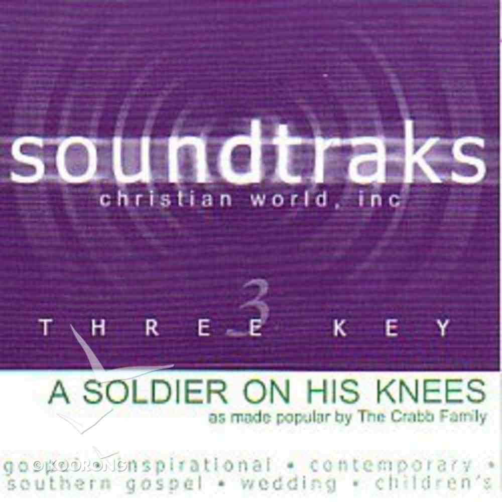 A Soldier on His Knees (Accompaniment) CD