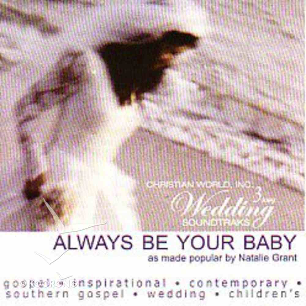 Always Be Your Baby (Accompaniment) CD