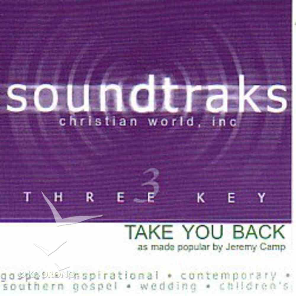 Take You Back (Accompaniment) CD