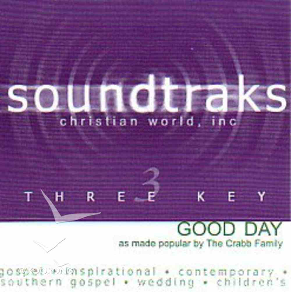 Good Day (Accompaniment) CD